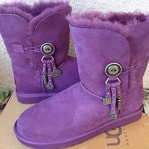 Ugg Women's Azalea Suede Boots Port Size 7 New in Box Photo