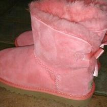 Ugg Women's Bailey Bow Boot 1016501 Salmon Pink Sz6 New Photo