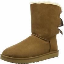 Ugg Women's Bailey Bow Ii Winter Boot Chestnut Size 10.0 Kjwm Photo