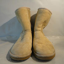 Ugg Women's Boots Classic Short Sand Size 5w Photo