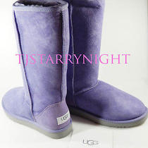 Ugg Women's Boots Classic Tall Lilac Size 7 New W/ Box - Free Shipping Photo
