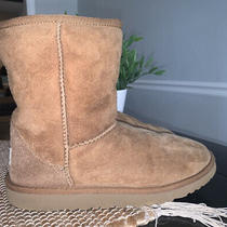 Ugg Women's Classic Ii Short Chestnut Boots Size 4. Photo