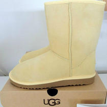  Ugg Women's Classic Short Yellow Size 6 (Style 5825) New W Tags in Box Photo