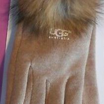 Ugg Women's Computer Gloves - Beige - Brand New Photo