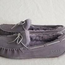 Ugg Women's Dakota Moccasin Slippers Size 5 Samt 1107949 Nwob Photo