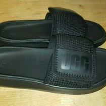 Ugg Women's La Light Slide Sandal Black/black Size 8 Photo