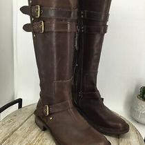 Ugg Womens Leather Brown Boots Sise 7  Photo