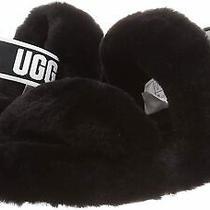 Ugg Women's Oh Yeah Slipper Black Size 8.0 Ifpk Photo