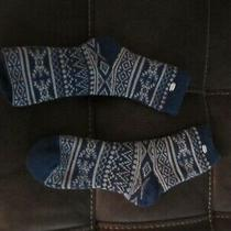 Ugg Women's Socks Blue One Size Nwot Photo