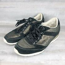 Ugg Womens Suede Sneakers Size 6 Photo