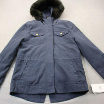Ugg Womens Navy Blue Lamb Fur 3-in-1 Convertible Field Parka Jacket Nwt  S  595 Photo