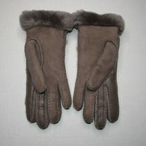 Ugg Womens Seamed Tech Touch Screen Compatible Gloves Size Meidum Photo