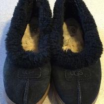Ugg Womens Slippers Black Size 9 Euc Photo