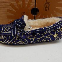 Ugg Womens Slippers Dakota Rosebloom Medallion Size 7 Photo