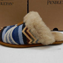 Ugg Womens Slippers Scuffette Pendleton Chestnut Size 8 Photo