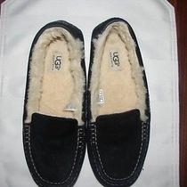 Ugg Womens  Slippers Shoes 3312  Black Size 9 Photo