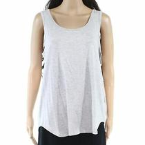 Ugg Womens Tank Top Heather Gray Small Size S Knit Scoop Neck Stretch 68 682 Photo