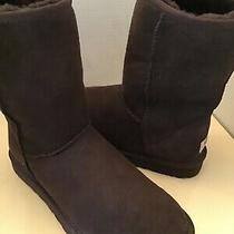 Uggs Australia Classic Short 5825 Women Brown Suede Boots Size 8 Photo