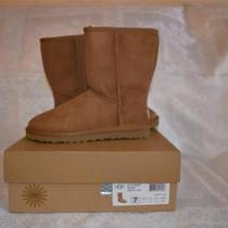 Uggs Australia Classic Short Women Chestnut Boots 5825 Size 7 Authentic  New Photo