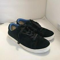 Uggs Black Blue Trim Tennis Shoes Size 8 Athletic  Photo