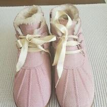 Uggs Boots T Payten Metallic Pink  Girls Size 12 Photo