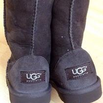 Uggs Boots Youth Size 1 Chocolate Photo