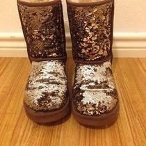 Uggs Brown/silver Sequin  Photo