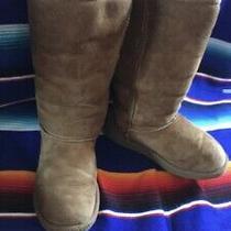 Uggs Children Winter Beige Boots Sz 3 Photo
