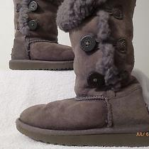 Uggs for Girls Size 1 Gray  Photo