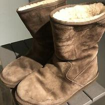 Uggs Pierce Boot Size 9 Chocolate  Side Zip Photo