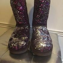Uggs Purple and Silver Sequin Photo