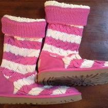 Uggs Size 7 Cable Knit Excellent  Photo