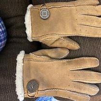 Uggs Women's Gloves Chestnut Sheepskin Glove Fur Us Large  Photo
