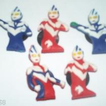 Ultraman Hero Japanese Tv Manga 5pc Jibbitz Shoe Bracelet Charms Fits Croc U100 Photo