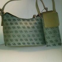 Unbranded Designer Inspired  Green Hobo Handbag Matching Cellphone Case Mini  Photo