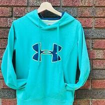 Under Armor  Storm Under Armour Coldgear Semi-Fitted Hoodie Big Logo Size S Photo