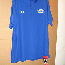 Under Armor Tennesse Wildcats Polo Shirt Medium New Heat Gear   Photo