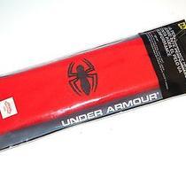 Under Armour Alter Ego Spider-Man Headband Red Marvel Ua Performance New Sealed Photo