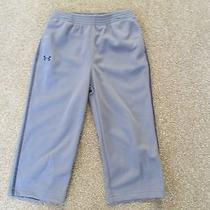 Under Armour Boys 2t Athletic Pants Graphite (Gray) Bnwt Photo