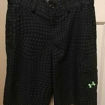 Under Armour Boys' Loose Golf Shorts Size Youth Large Black Photo