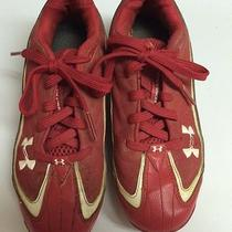 Under Armour Boys Size 3.5 Outdoor Soccer Cleats in Vguc Photo