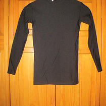Under Armour Cold Gear Shirt Ymd M Black Kids Youth Soccer Baseball Running Photo