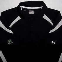 Under Armour Golf Heat Gear Crestwood Country Club Fitted Golf Polo Shirt L New  Photo