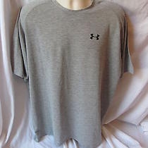 Under Armour Heat Gear 2xlarge Grey T Shirt Item 29 Photo