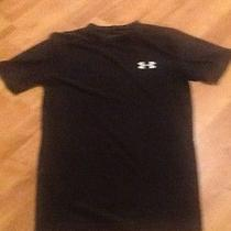 Under Armour Heat Gear Compression Tight Fit Black Shirt L Photo