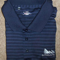 Under Armour Heat Gear Golf Polo Shirt Mint Mens Xl Purple Striped Short Sleeves Photo