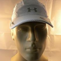 Under Armour Heat Gear Intake Hat Cap White One Size Photo