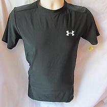 Under Armour Heat Gear Large Black T Shirt Item 24 Photo