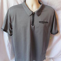 Under Armour Heat Gear Large Gray Polo Item 53 Photo