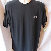 Under Armour Heat Gear Medium Black T Shirt Item 40 Photo
